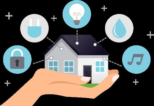 Vezetéknélküli Smart Home